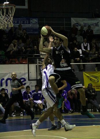 Nacho Marín, cada día mayor protagonismo en el CB Mollet (foto basquetmaniàtic)