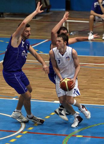 Gabriel Díaz Morera demuestra cada jornada sus cualidades (foto basquetmaniàtic)