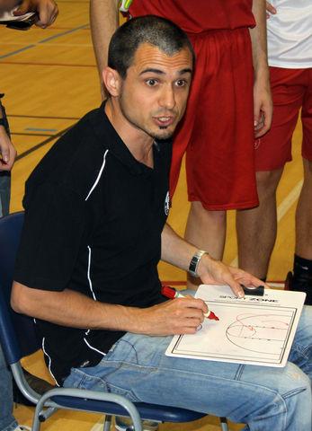 Aleix Duran, entrenador del Sabadell Sant Nicolau y entrenador ayudante del Bàsquet Manresa (foto basquetmaniàtic)