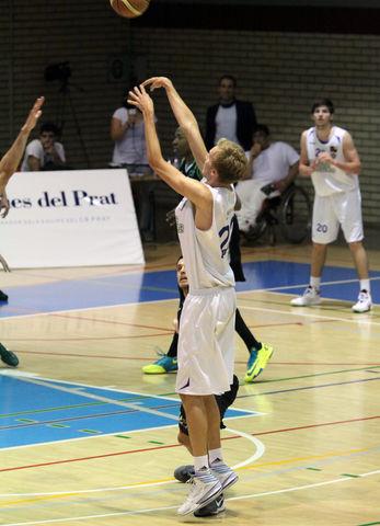 Joonas Cavén confirmó su mejoría (foto basquetmaniàtic)