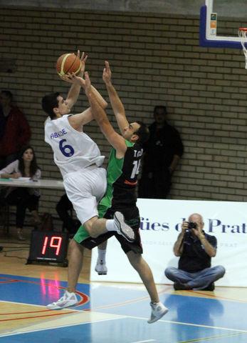 Alberto Abalde, imparable en ataque (foto basquetmaniàtic)