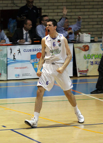 "Alberto Abalde, ""on fire"" (foto basquetmaniàtic)"