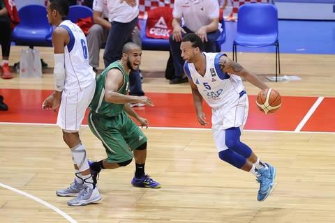 Jeff Xavier con Cabo Verde (Foto: FIBA Africa)