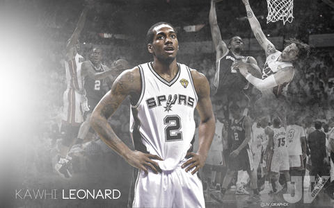 Kawhi Leonard (Foto: basketballwallpapers.com).