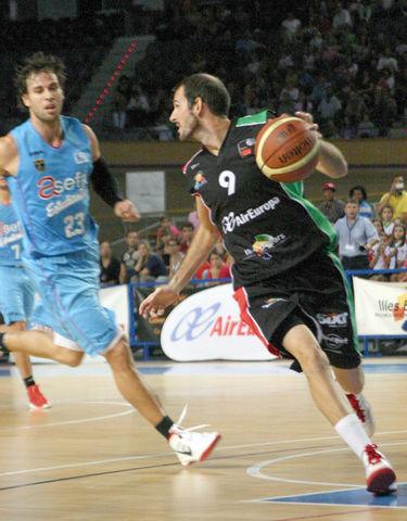Berto García, vigésima temporada en el equipo (foto Palma Air Europa)
