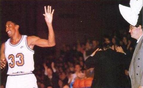 La visita de Scottie Pippen a Argentina en 1994