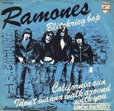 Blitzkrieg Bop, de los Ramones.