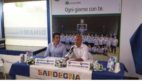 Stefano Sardara, presidente de la Dinamo Sassari.