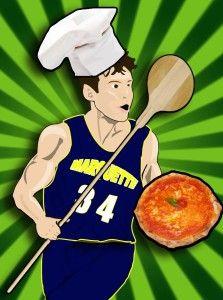 El pizzero Travis Diener (Foto: ciuff.it).