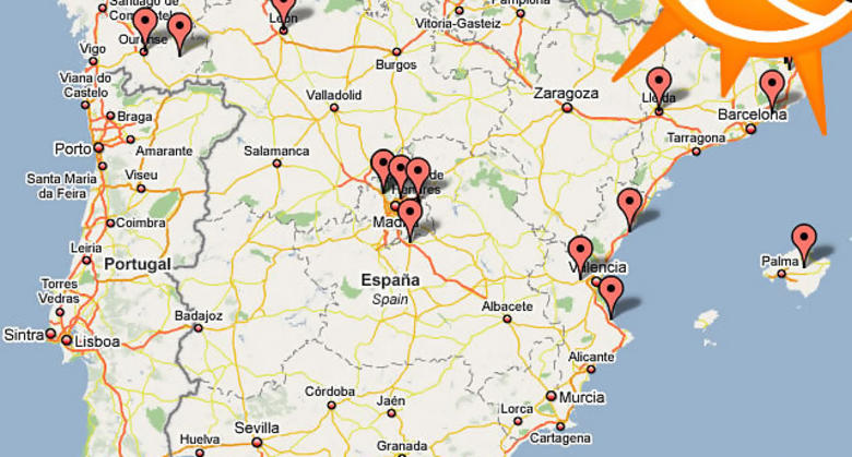 Busca tu campus desde el mismo Mapa de campus