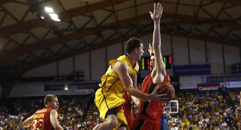 Ryan Toolson fue el máximo anotador del partido.<br>(ACB Photo / Miguel Henríquez)