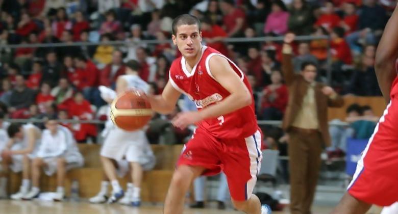 Albert Sabat, el base de Gestiberica, no pudo conducir a su equipo a la victoria