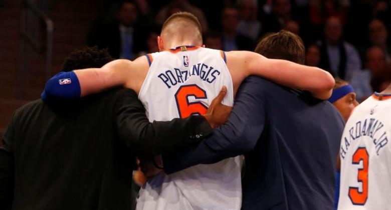 Los Knicks traspasaron a Kristaps Porzingis antes del cierre de mercado — Oficial