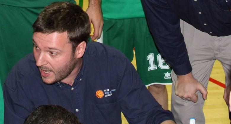 Toni Ten, entrenador del Amics Castelló (foto basquetmaniàtic)