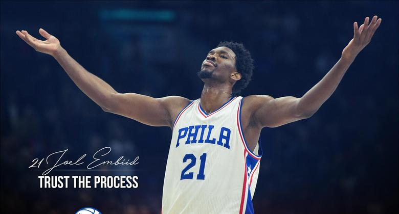 joel embiid trust the process