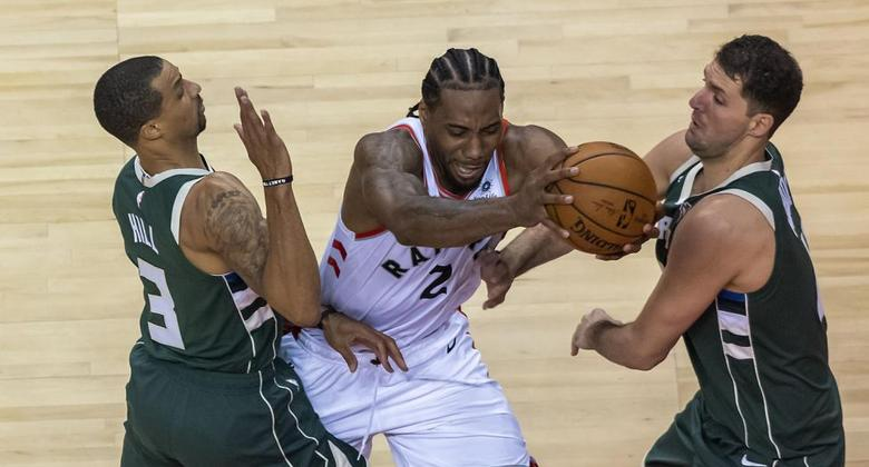 Kawhi Leonard vs Milwaukee Bucks