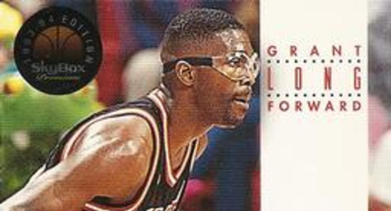 Grant Long y sus gafas protectoras.
