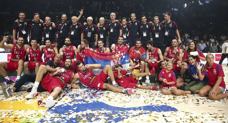 Serbia, medalla de plata en el Mundial 2014