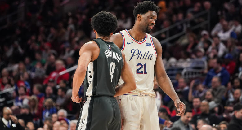 Brooklyn Nets da la sorpresa y asalta el Wells Fargo Center