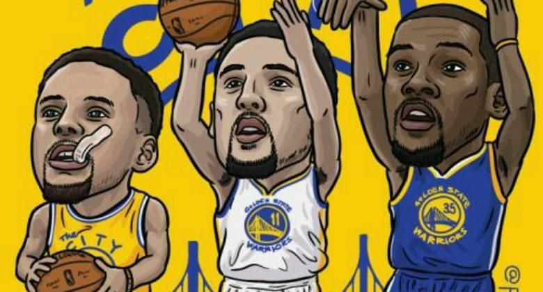 El Big Three de los Warriors.