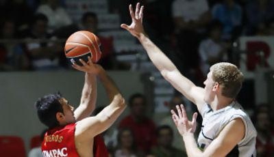 Quinteros ha sido el mejor del CAI (foto: ACB Media)