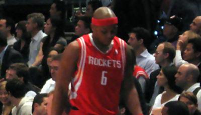 Bonzi Wells con los Rockets