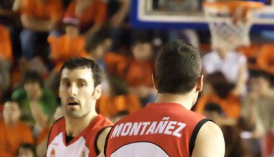 Montáñez y Bulfoni jugaron muy motivados (foto: FM)