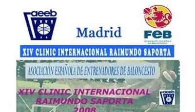 CLINIC INTERNACIONAL RAIMUNDO SAPORTA 2008. El pase: Trascendencia para el ataque y para la defensa<br>