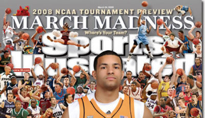 Chris Lofton en la portada de Sports Ilustrated