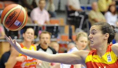 Laura Nicholls ha sido clave en la victoria de la selección española (foto: fibaeurope.com)