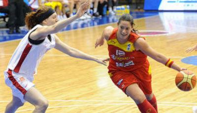 Ana Montañana volvió a ser clave en la victoria española (foto: fibaeurope.com)
