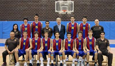 Regal FC Barcelona, Campeón de España cadete