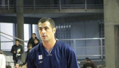 Berni Hernández con el Lucentum