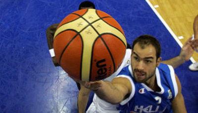 Spanoulis, lider de una Grecia sorprendente (Foto FIBA/Castoria/Vlachos)