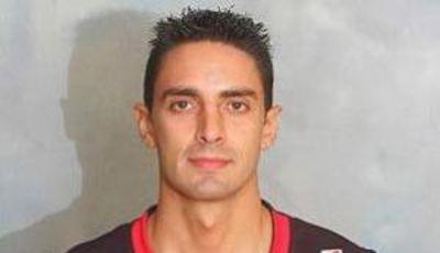 José Luis Maluenda, en su época de jugador de Lagun Aro Bilbao