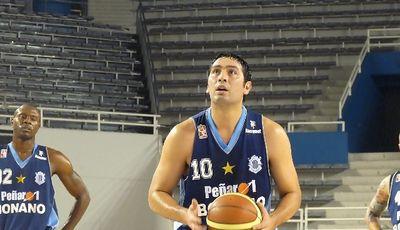 Leo Gutierrez con la camiseta del Peñarol. (Foto: deportemarplatense.com)