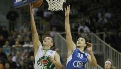 Marko Tomas y Becirovic en el partidazo de esta semana (Foto: adriaticbasket)