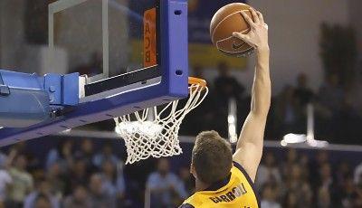 Jaycee Carroll fue el máximo anotador del partido<br> (ACB PHOTO/Miguel Henríquez)