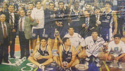 Caja Cantabria posó con la I Copa Príncipe (Foto: Edición impresa El Diario Montañés)