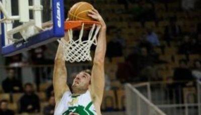 Vladimir Golubovic con el Union Olimpija (Foto: adriaticbasket.net)