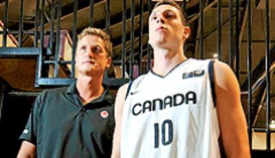 Leo Rautins y su hijo Andy (syracuse.com).
