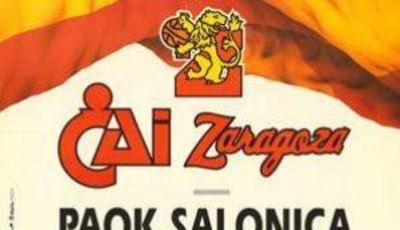 Cartel anunciador de la Final de la Recopa de 1991 (www.lacasadelbaloncesto.es)