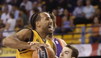 Gran actuación de Marcus Norris<br> (ACB PHOTO/Miguel Henríquez)