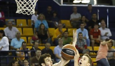 Jaycee Carroll firmó 16 puntos<br> (ACB PHOTO/Miguel Henríquez)