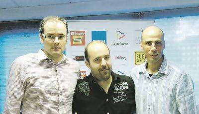 Francesc Solana presentó a Joan Peñaroya  (Foto:  Dídac Salau para Diari d'Andorra) <br>