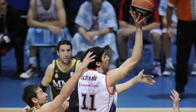 Lior Eliyahu tomó la responsabilidad (ACB PHOTO/Lino González)