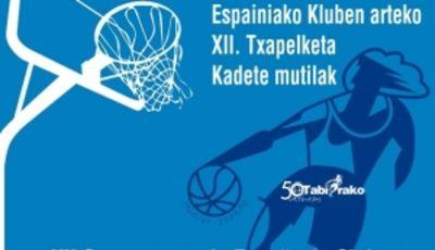 Cartel del Campeonato de España cadete masculino