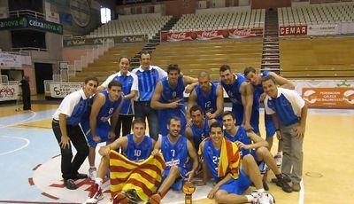 La selección catalana se impuso a Lituania en la final (Foto: Fed. Catalana)