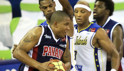 Jaime Lloreda acabó lesionado (Foto: FIBA Americas)