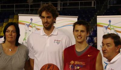 Ponitka es elegido MVP del BwB con Pau Gasol como anfitrión (Foto: Fernando Gordo)